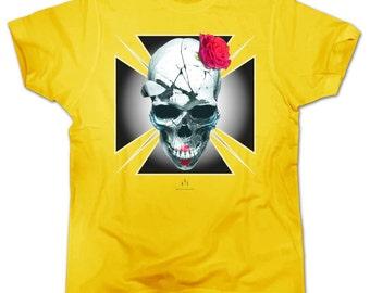T-Shirt SKULL ROSE
