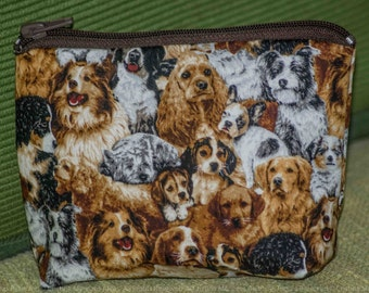 Dog purse/handbag design with dogs