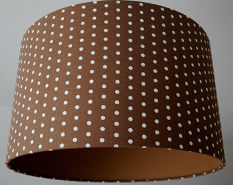 "Lampshade ""Dots"" (Brown)"