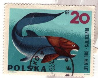 Polish postage stamp 20 gr 1965