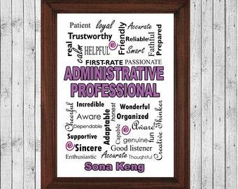 secretary, Administrative,assistant,life saver Gift,Administrative Gift, Administrative Decor, Administrative Sign, Administrative Gift