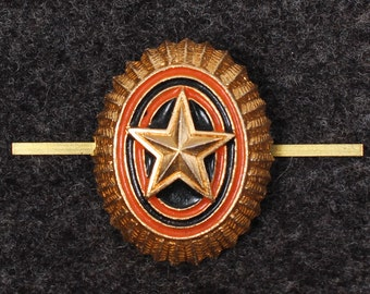 Russian Army insignia hat pin, badge Star