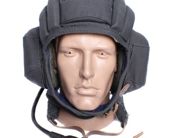 Russian military tank protection helmet