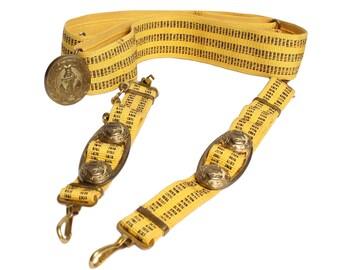 Soviet Naval Parade Captain's belt with dagger chain