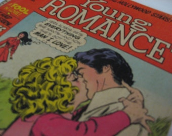 Vintage DC Comics' Young Romance vol. 178 January 1972. Teen romance comic. Angst, tears, drama!