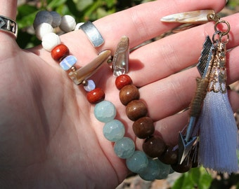 Skadhi/Skadi Heathen and Pagan Prayer Beads
