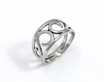 Ring Silver SIAM