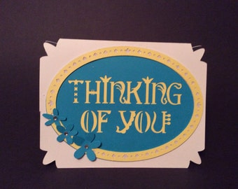 Thinking of you, notecard