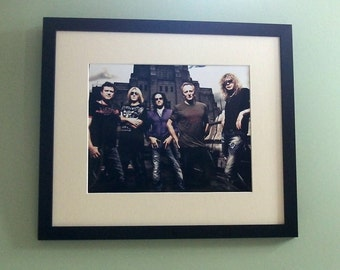Def Leppard framed 8' x 10' photo