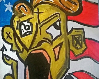 Contemporary Abstract Expressionism Oil Painting
