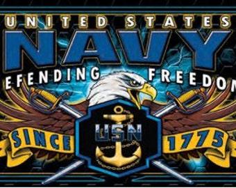 Navy Pen Blank