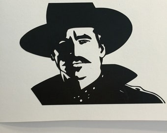 Doc Holliday vinyl decal