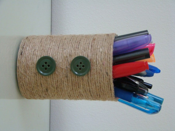 Pencil Holder 2001 / 100% recycled materials by DjoonGallery