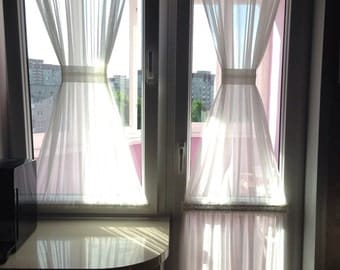 Sidelight Curtains Etsy
