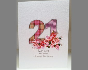 Special Wishes Large Birthday Special Age 21 Card SW BI16
