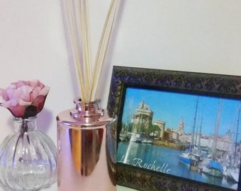 Rose gold reed diffuser