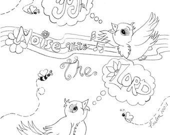 Make a joyful noise unto the Lord - Psalm 100:1