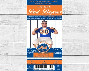 Mets Ticket Invitation
