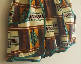 Women's African Kente Shorts