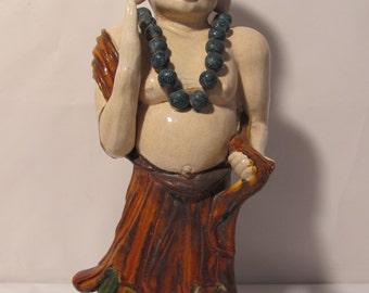 Vintage Standing  Monk