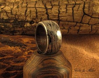 M3 Mokume Gane and Zircote ring