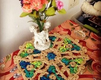 Modern Crochet Doily