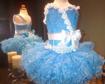 Pageant dress - natural cupcake
