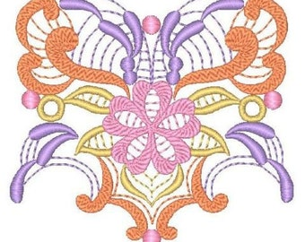 Fantasy Ornaments ( 32 Machine Embroidery Designs for 5x7 hoop from ATW )