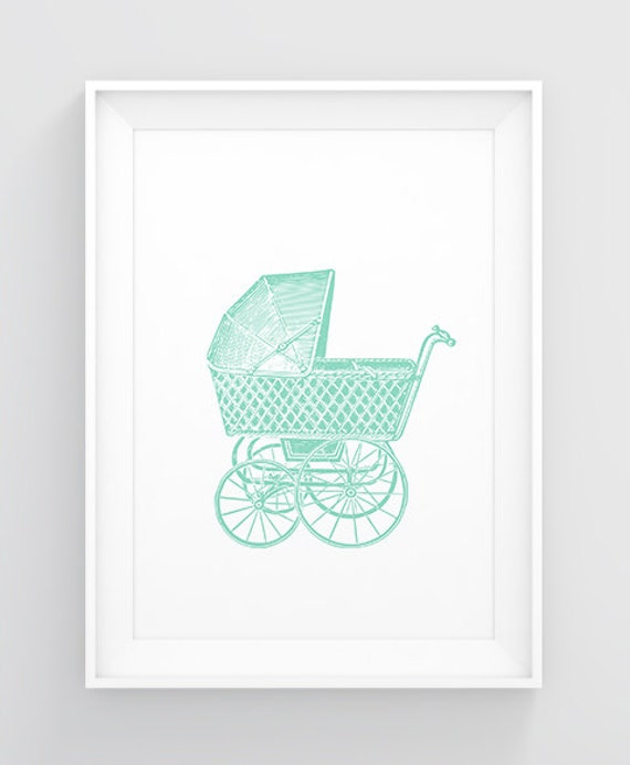 Items similar to mint baby shower wall decor nursery for Baby shower wall decoration