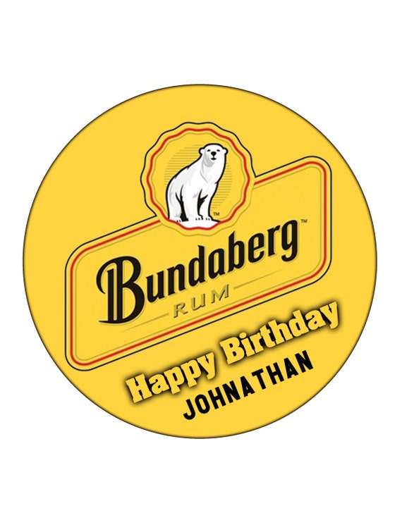 Edible Cake Images Bundaberg : Edible Icing Custom Personalised Bundaberg by ...