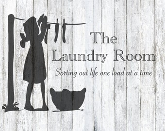 The Laundry Room SVG