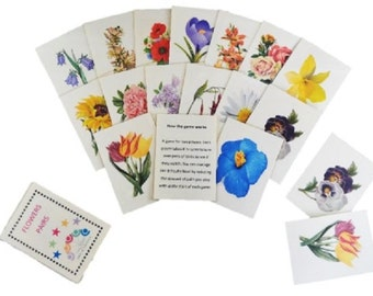 Pairs Card Game – Flowers