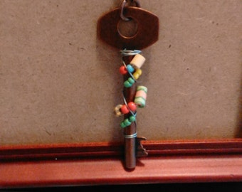 Key and Bead necklet