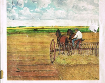 A Prairie Boy's Summer by William Kurelek First Printing