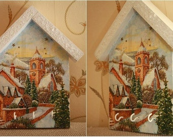 "Wooden housekeeper ""Winter City"""