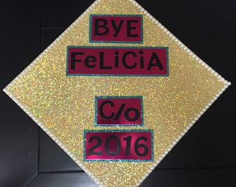 SALE! Customized Graduation Cap Topper / Buy today, ship tomorrow!