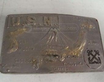 Vintage U.S. Navy Belt Buckle