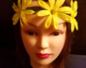 Lovely Yellow Headband