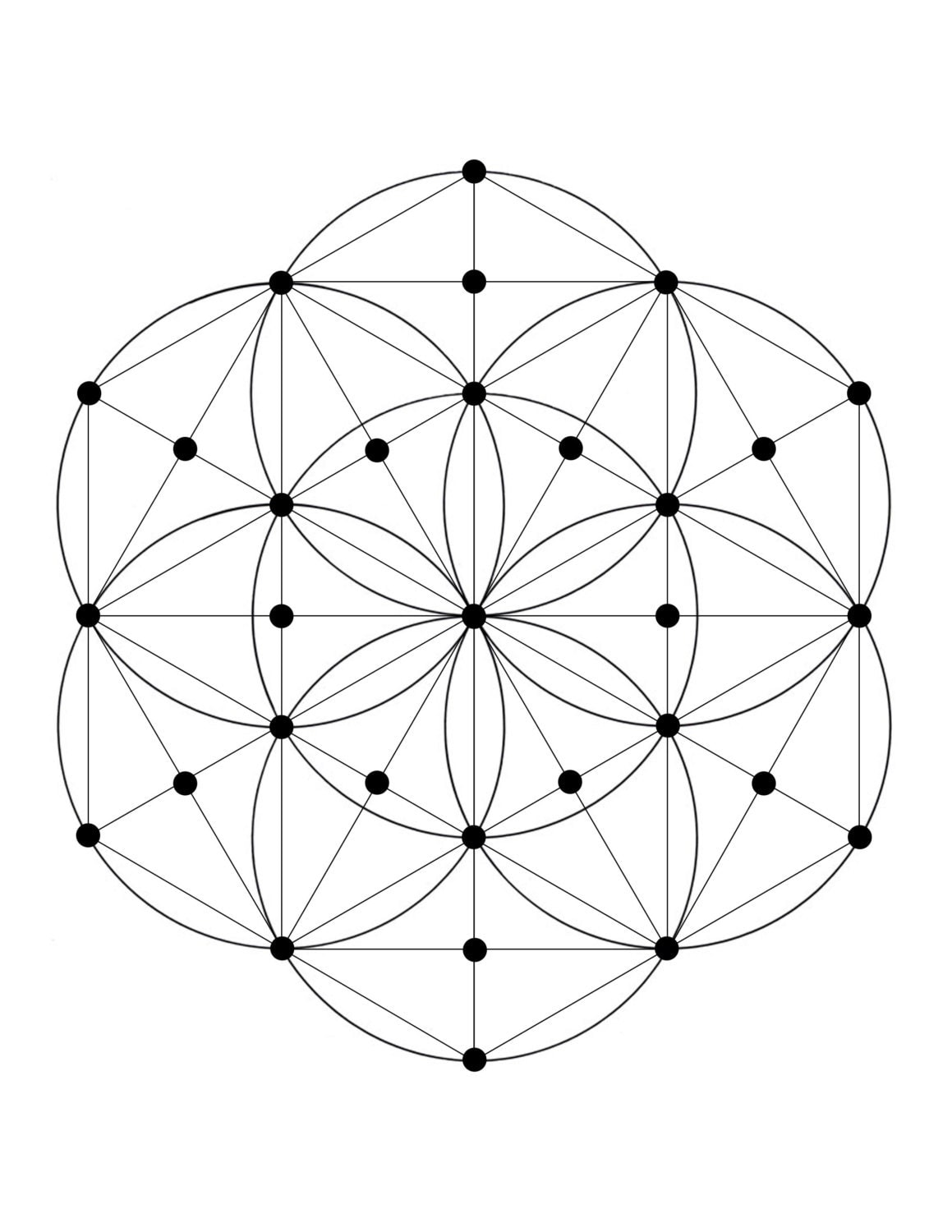 It's just a picture of Gratifying Printable Crystal Grid