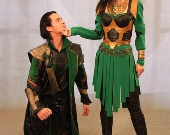 Original Lady Loki cosplay costume avengers marvel