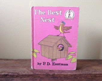 The Best Nest by P.D. Eastman 1968 Hardcover