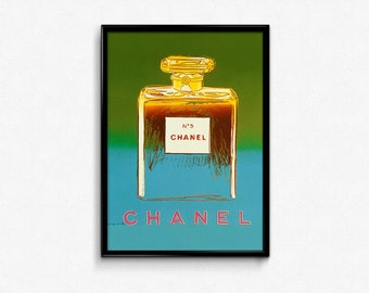 Chanel Green Art Print