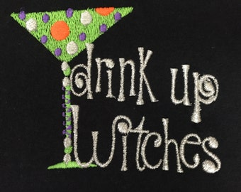 Drink Up Witches short sleeved t-shirt