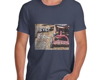 Men's Never Grow Up T-Shirt