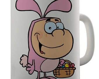 Easter Bunny Ceramic Mug