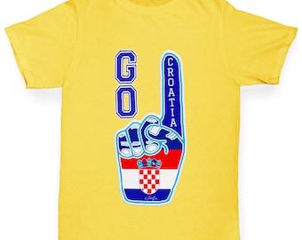 Girl's Go Croatia! T-Shirt
