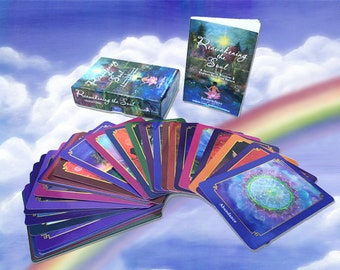 Soul Wisdom Oracle  Card Deck, Nature, Animals, Angels, Spirituality, Psychology