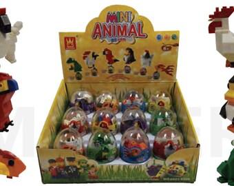 Mini Animal Eggs Case (12pc)