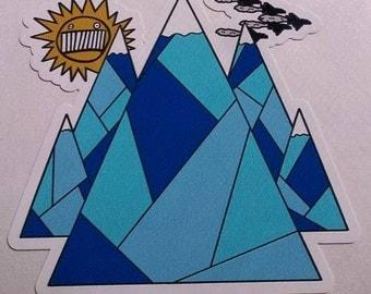 Ween & Adventure Time crossover sticker/slap - Ice Castles