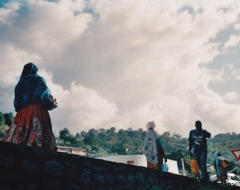 Promenade in Mayotte - Fine Art Print - Film photography - clouds - Etsy Wall Art-